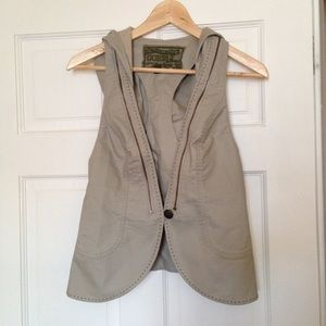 Guess Vest with Hood